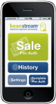 Beanstream iPhone application for on the go eCommerce